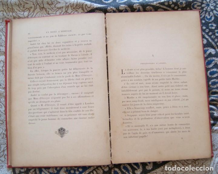 Libros antiguos: Un neveu a héritage R. Dombre 1900 - Foto 4 - 171637697