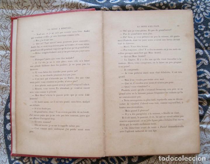 Libros antiguos: Un neveu a héritage R. Dombre 1900 - Foto 5 - 171637697