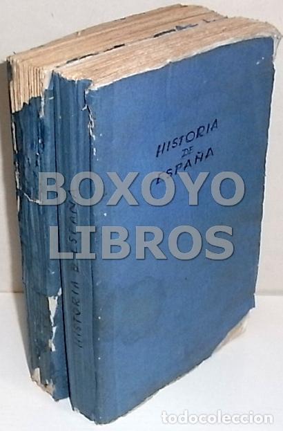 MARIANA, JUAN. HISTORIA GENERAL DE ESPAÑA. TOMOS I Y II. GASPAR Y ROIG. 1852 (Libros Antiguos, Raros y Curiosos - Historia - Otros)