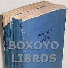 Libros antiguos: MARIANA, JUAN. HISTORIA GENERAL DE ESPAÑA. TOMOS I Y II. GASPAR Y ROIG. 1852. Lote 171703888
