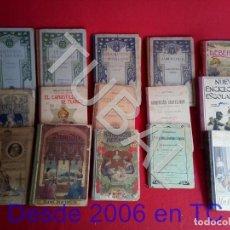 Libros antiguos: TUBAL LOTAZO 24 LIBROS ESCOLARES ANTIGUOS EN DIFERENTES ESTADOS . Lote 171714320