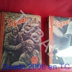 Libros antiguos: TUBAL LOTAZO 31 SIGNAL REVISTAS II GUERRA MUNDIAL. Lote 171715538