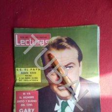 Libros antiguos: TUBAL REVISTA LECTURAS 499 MUERTE DE GARY COOPER 15 MAYO 1961. Lote 171772854
