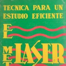 Libros antiguos: EL MÉTODO LASER.. Lote 171785050