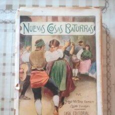 Libros antiguos: NUEVAS COSAS BATURRAS - JULIO VICTOR TOMEY (LEÓN FOGOSO) - NO CONSTA FECHA. Lote 171896473