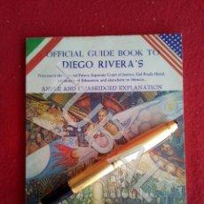 Libros antiguos: TUBAL DIEGO RIVERA PINTURA MEXICO LIBRO GUIA CATALOGO. Lote 171970857