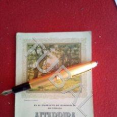 Libros antiguos: TUBAL ALTARRIBA SAN JULIAN DE VILATORTA VICH PROYECTO RESIDENCIA DE VERANO. Lote 171973394