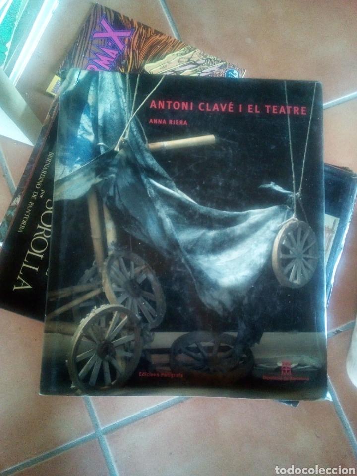 LIBRO GRAN TAMAÑO ANTONI CLAVE I EL TEATRE ED POLIGRAFA BUEN ESTADO (Libros Antiguos, Raros y Curiosos - Bellas artes, ocio y coleccionismo - Otros)
