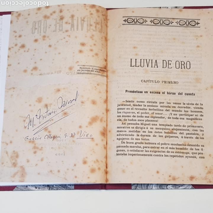 Libros antiguos: LLUVIA DE ORO - RAMIRO BLANCO - VIGO 1899 IMPRENTA LA CONCORDIA PLAZA DEL SOL 3 - Foto 2 - 172005232