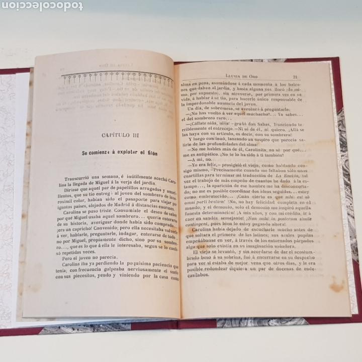 Libros antiguos: LLUVIA DE ORO - RAMIRO BLANCO - VIGO 1899 IMPRENTA LA CONCORDIA PLAZA DEL SOL 3 - Foto 3 - 172005232