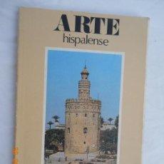 Libros antiguos: ARTE HISPALENSE , LA TORRE DEL ORO , TEODORO FALCON MARQUEZ - 1983. Lote 172012884