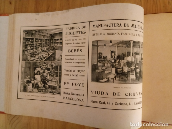 Libros antiguos: BARCELONA ARTISTICA E INDUSTRIAL - 1910 - LUJOSO ALBUM FOTOGRAFIAS RESUMEN HISTORICO DE LA CIUDAD - Foto 2 - 172087968