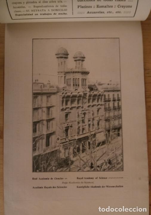 Libros antiguos: BARCELONA ARTISTICA E INDUSTRIAL - 1910 - LUJOSO ALBUM FOTOGRAFIAS RESUMEN HISTORICO DE LA CIUDAD - Foto 3 - 172087968