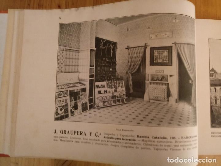 Libros antiguos: BARCELONA ARTISTICA E INDUSTRIAL - 1910 - LUJOSO ALBUM FOTOGRAFIAS RESUMEN HISTORICO DE LA CIUDAD - Foto 5 - 172087968