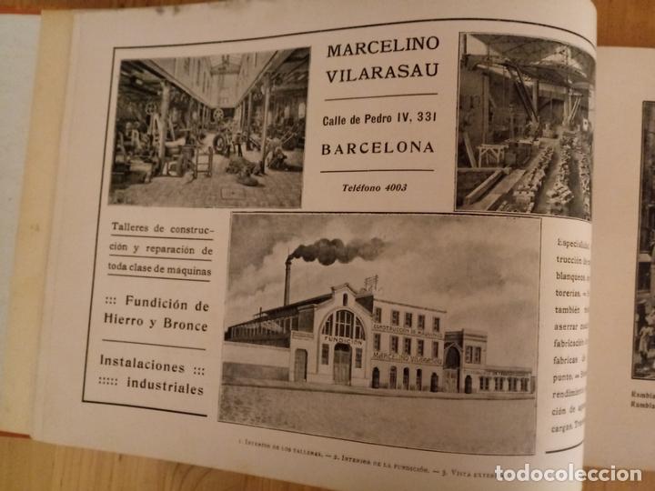 Libros antiguos: BARCELONA ARTISTICA E INDUSTRIAL - 1910 - LUJOSO ALBUM FOTOGRAFIAS RESUMEN HISTORICO DE LA CIUDAD - Foto 6 - 172087968