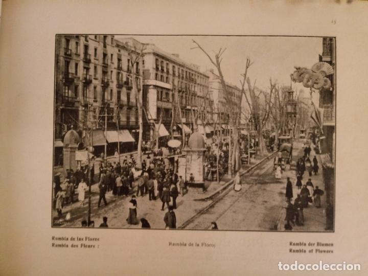 Libros antiguos: BARCELONA ARTISTICA E INDUSTRIAL - 1910 - LUJOSO ALBUM FOTOGRAFIAS RESUMEN HISTORICO DE LA CIUDAD - Foto 7 - 172087968