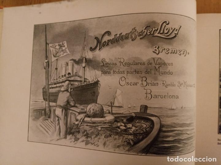 Libros antiguos: BARCELONA ARTISTICA E INDUSTRIAL - 1910 - LUJOSO ALBUM FOTOGRAFIAS RESUMEN HISTORICO DE LA CIUDAD - Foto 11 - 172087968