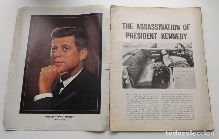Libros antiguos: Kennedy, revista Life, John F. Kennedy Memorial Edition - Foto 3 - 172092765