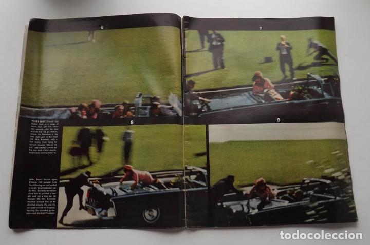 Libros antiguos: Kennedy, revista Life, John F. Kennedy Memorial Edition - Foto 4 - 172092765