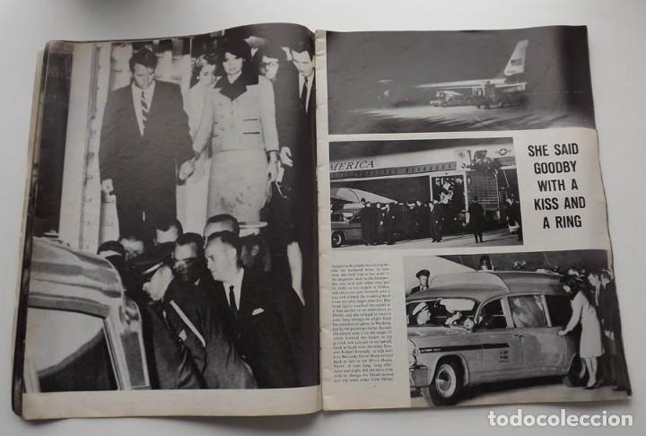 Libros antiguos: Kennedy, revista Life, John F. Kennedy Memorial Edition - Foto 5 - 172092765
