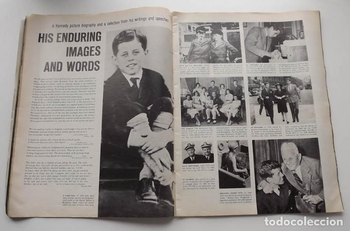 Libros antiguos: Kennedy, revista Life, John F. Kennedy Memorial Edition - Foto 6 - 172092765
