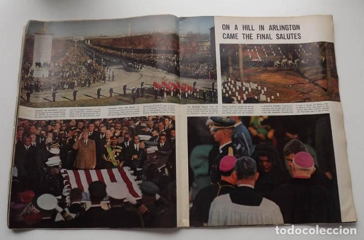 Libros antiguos: Kennedy, revista Life, John F. Kennedy Memorial Edition - Foto 7 - 172092765