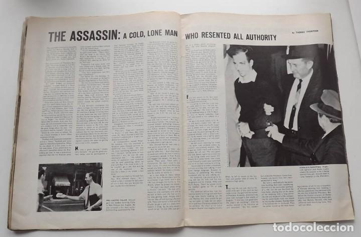 Libros antiguos: Kennedy, revista Life, John F. Kennedy Memorial Edition - Foto 8 - 172092765
