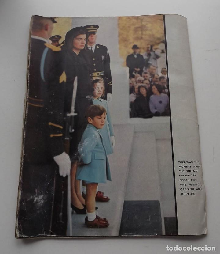 Libros antiguos: Kennedy, revista Life, John F. Kennedy Memorial Edition - Foto 9 - 172092765