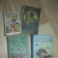 Libros antiguos: LOTE DE ANTIGUOS LIBROS DE 'LECTURA DE MANUSCRITOS'. Lote 172095434