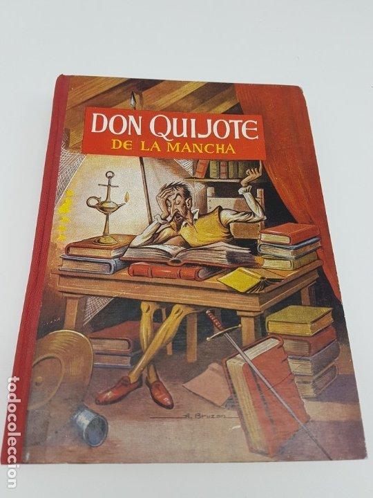 DON QUIJOTE DE LA MANCHA ( 2º EDICIÓN ESCOLAR ) (Libros Antiguos, Raros y Curiosos - Literatura - Otros)