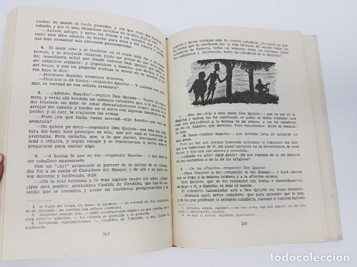 Libros antiguos: DON QUIJOTE DE LA MANCHA ( 2º EDICIÓN ESCOLAR ) - Foto 3 - 172167358