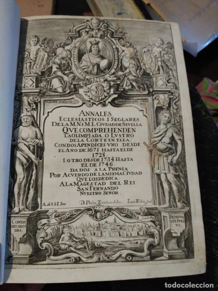 ANNALES DE SEVILLA. MUY ANTIGUO LIBRO (Libros Antiguos, Raros y Curiosos - Historia - Otros)