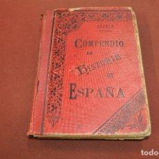 Libros antiguos: COMPENDIO DE HISTORIA DE ESPAÑA - AHUM. Lote 172239553