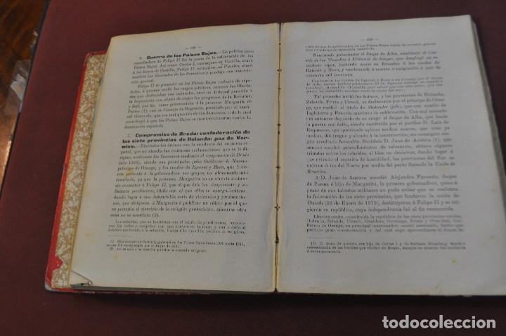 Libros antiguos: compendio de historia de españa - AHUM - Foto 3 - 172239553