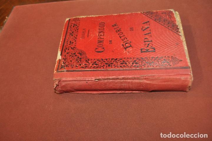 Libros antiguos: compendio de historia de españa - AHUM - Foto 5 - 172239553