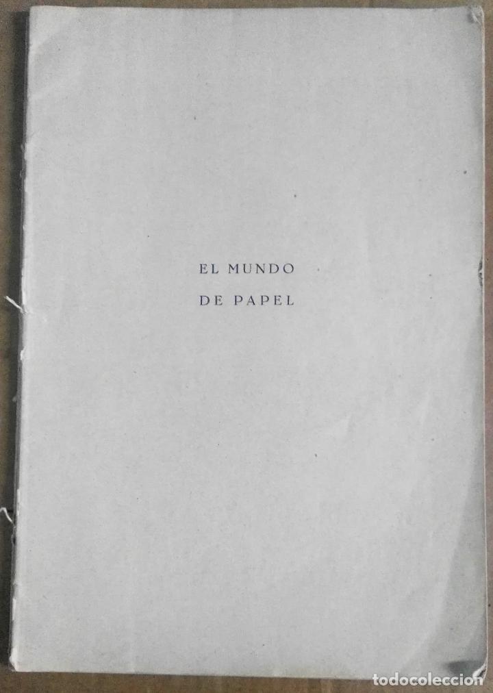 NEMESIO MONTERO, EL MUNDO DEL PAPEL. TRABAJOS MANUALES GRADUADOS, 1939. PAPIROFLEXIA (Libros Antiguos, Raros y Curiosos - Bellas artes, ocio y coleccionismo - Otros)
