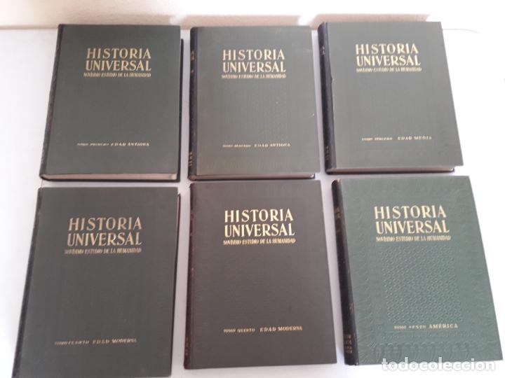 Libros antiguos: HISTORIA UNIVERSAL. NOVÍSIMO ESTUDIO DE LA HUMANIDAD. GALLACH. 6 TOMOS. AÑOS 30 - Foto 2 - 172241745