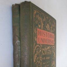 Libros antiguos: NOVISIMA HISTORIA UNIVERSAL TOMOS I Y II. Lote 172243432