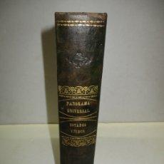 Libros antiguos: PANORAMA UNIVERSAL. HISTORIA DE LOS ESTADOS-UNIDOS DE AMÉRICA. - ROCHELLE, ROUX DE. 1841.. Lote 123238554