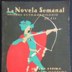 Libros antiguos: LA NOVELA SEMANAL Nº 182 EXTRAORDINARIO - CONCHA ESPINA, EDUARDO MARQUINA Y OTROS - AÑO 1925. Lote 172303210