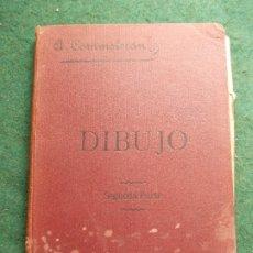 Libros antiguos: TRATADO ELEMENTAL DE DIBUJO 1904. Lote 172353584