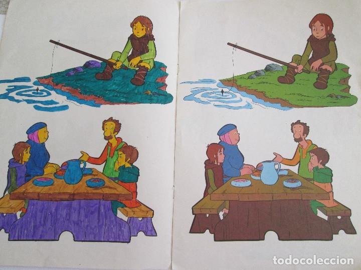 Libros antiguos: RUY EL PEQUEÑO CID - LIBRO PARA COLOREAR - FHER - 1980 - 8 PAGINAS - Foto 3 - 50578503