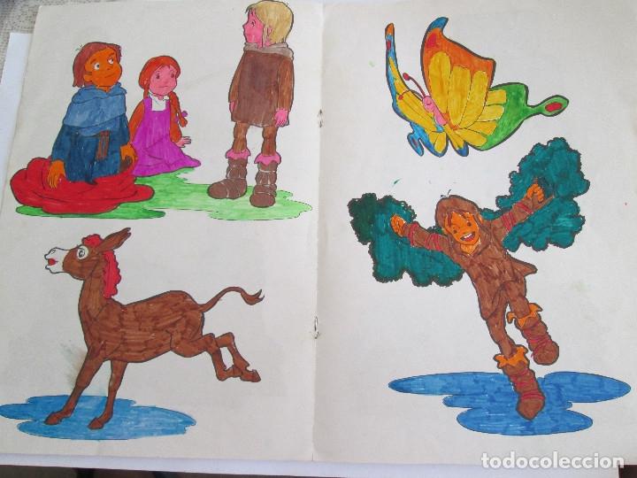 Libros antiguos: RUY EL PEQUEÑO CID - LIBRO PARA COLOREAR - FHER - 1980 - 8 PAGINAS - Foto 4 - 50578503