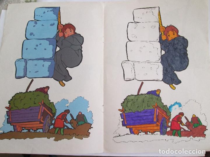 Libros antiguos: RUY EL PEQUEÑO CID - LIBRO PARA COLOREAR - FHER - 1980 - 8 PAGINAS - Foto 5 - 50578503