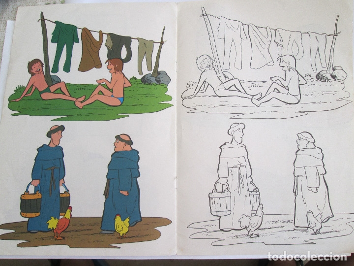 Libros antiguos: RUY EL PEQUEÑO CID - LIBRO PARA COLOREAR - FHER - 1980 - 8 PAGINAS - Foto 6 - 50578503