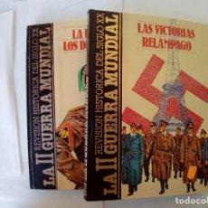 Libros antiguos: LOTE DE 2 LIBROS LAS VICTORIOAS RELAMPAGO-LA HORA DE LOS DICTADORES VER FOTOS. Lote 172579033
