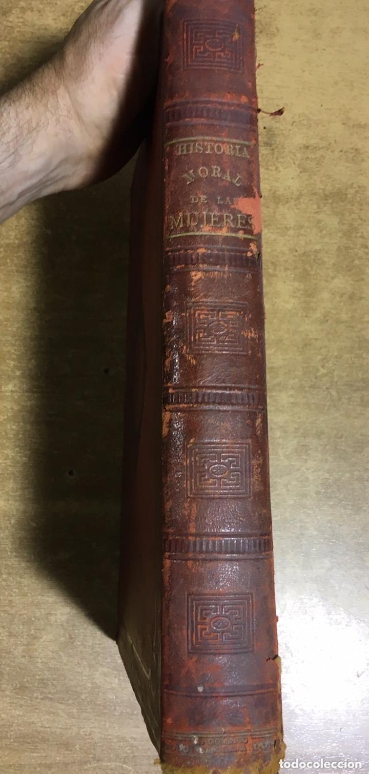 Libros antiguos: EL BELLO SEXO VINDICADO - HISTORIA MORAL DE LAS MUJERES - FRANCISCO NACENTE - 2 TOMOS 1890 ca 1ªEd. - Foto 3 - 172615752