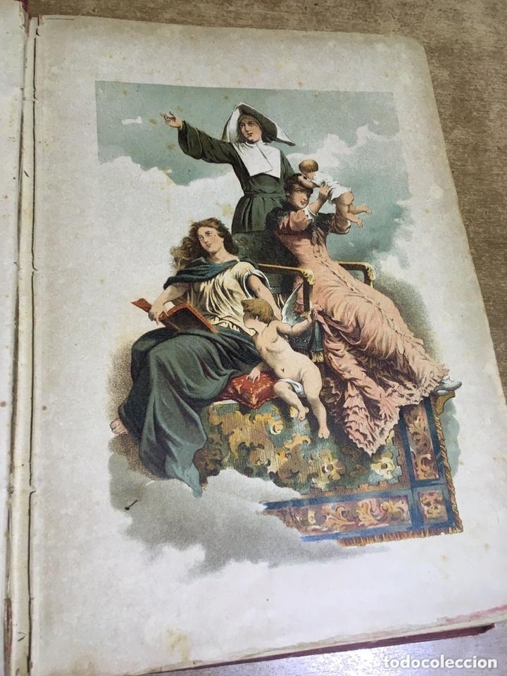 Libros antiguos: EL BELLO SEXO VINDICADO - HISTORIA MORAL DE LAS MUJERES - FRANCISCO NACENTE - 2 TOMOS 1890 ca 1ªEd. - Foto 5 - 172615752