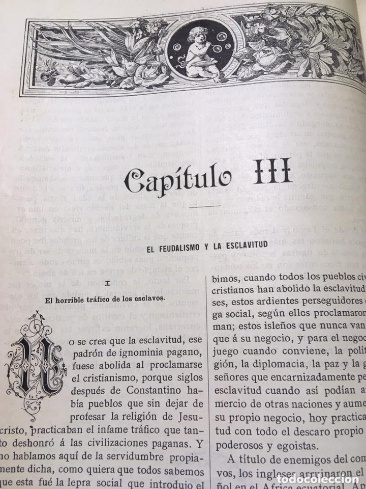 Libros antiguos: EL BELLO SEXO VINDICADO - HISTORIA MORAL DE LAS MUJERES - FRANCISCO NACENTE - 2 TOMOS 1890 ca 1ªEd. - Foto 18 - 172615752