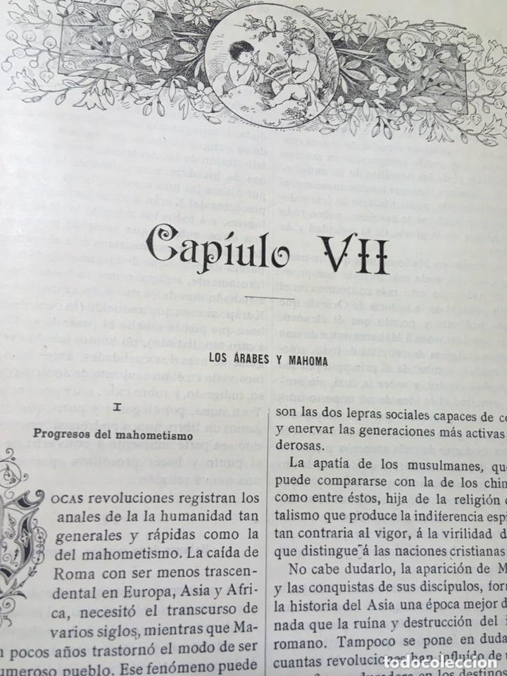 Libros antiguos: EL BELLO SEXO VINDICADO - HISTORIA MORAL DE LAS MUJERES - FRANCISCO NACENTE - 2 TOMOS 1890 ca 1ªEd. - Foto 23 - 172615752